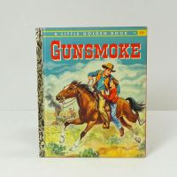 A Little Golden Book 1958 Gunsmoke Hardcover Book