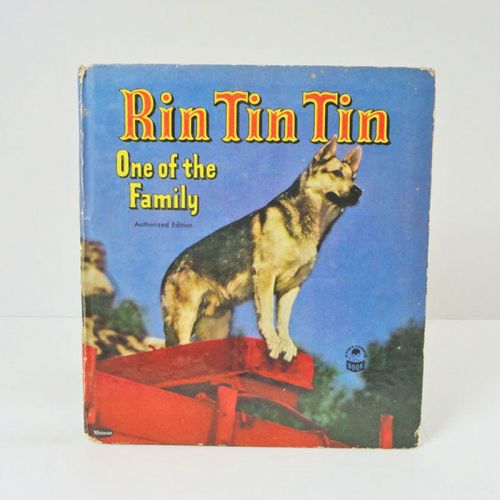 A Cozy Corner Book 1953 Rin Tin Tin One of the Family