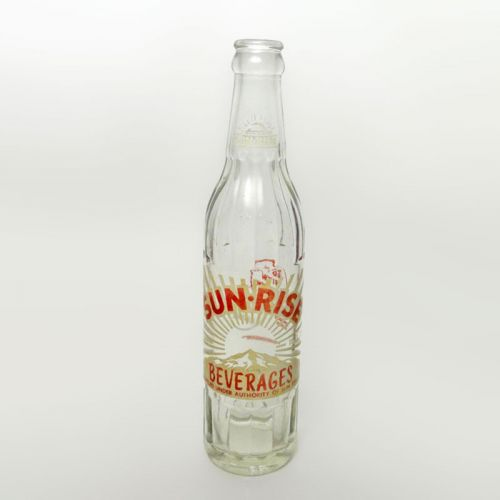 Sun Rise Beverages 10 oz. 1968 Vintage Soda Bottle