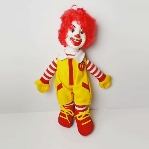 Ronald McDonald 15 inch Collectible McDonalds Doll No. 2