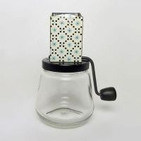 1940s Androck Food Chopper with a Black Diamond Design