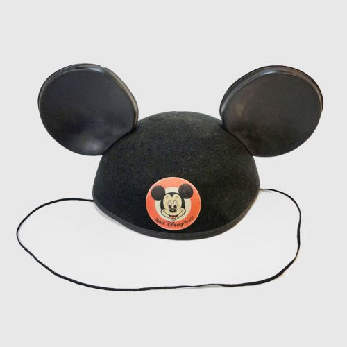 Jacobson Walt Disney Felt Mickey Mouse Hat with Strap