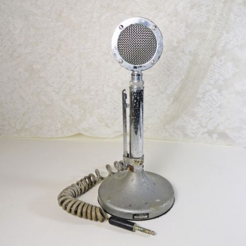 Astatic Model D104 Lollipop Microphone with UG8 Stand