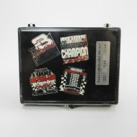 Dale Earnhardt Sr. Limited Edition 4 Piece Pin Set in Case