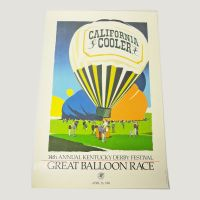 Kentucky Derby Festival 1986 Great Balloon Race Poster