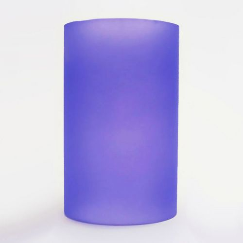 Purple Cylinder Lighting Tube for Electric Oil Warmers