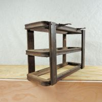 Treadle Sewing Machine Two Drawer Cabinet Frame No 401