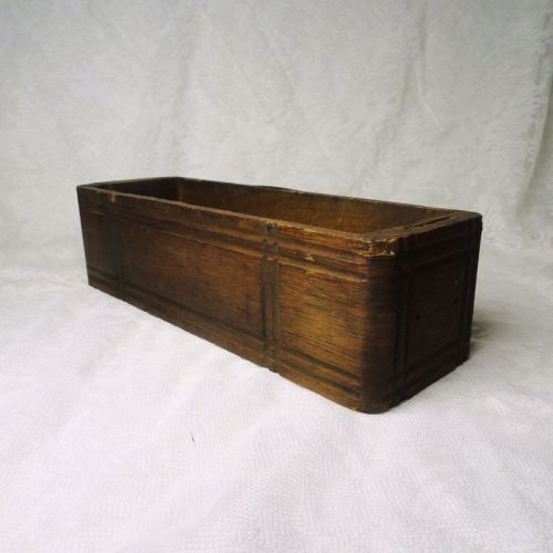Vintage Wood Treadle Sewing Machine Drawer 2 Round Corners