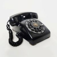 Black Western Electric 1961 Vintage Rotary Telephone