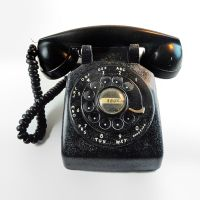 Bell Western Electric Vintage Black Rotary Telephone