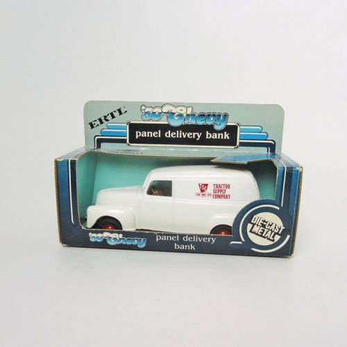 Ertl TSC Tractor Supply 1950 Chevy Bank in Box with Key