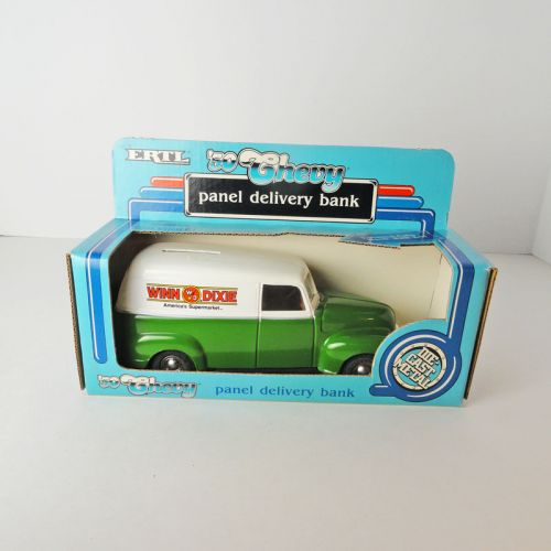 Ertl Winn Dixie 1950 Chevy Truck Bank in Box with Key