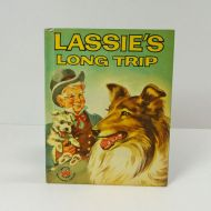 Wonder Books 1957 Lassie's Long Trip Home Hardcover Book
