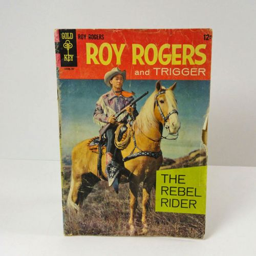 Gold Key Roy Rogers and Trigger The Rebel Rider Comic Book
