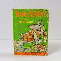 Big Little Book 1967 Tom and Jerry Meet Mr Fingers