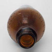 Sinclair Mfg Toledo Ohio 1959 Vintage Brown Bottle