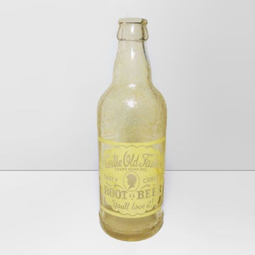 Frostie Old Fashion Root Beer Soda Bottle