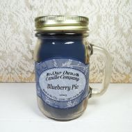 Blueberry Pie 13 oz. Scented Candle Large Glass Mug