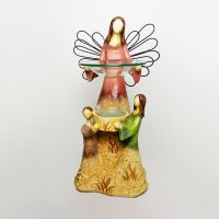 Angel and Children Emerging from Earth Candle Warmer