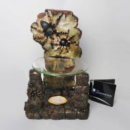 Tarantulas on a Crumbling Brick Wall Polyresin Candle Warmer
