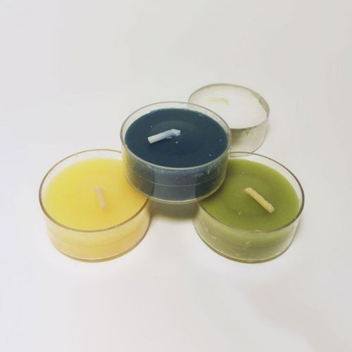 Three Varied Scented One Unscented Tealight Candles Lot 5