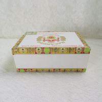 Macanudo Lords Cafe Empty Wood Cigar Box Dominican Republic
