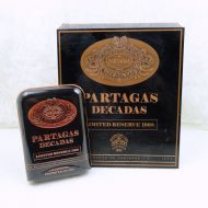 Partagas Decadas 1998 Cigar Box with Tin Carry Case