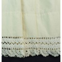Old Smock Shift or Under Garment with Lace Hem