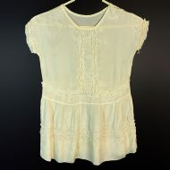 Vintage Antique Lace Chemise with Delicate Thin Material