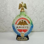Jim Beam Whiskey Decanter 1970 AMVETS American Veterans