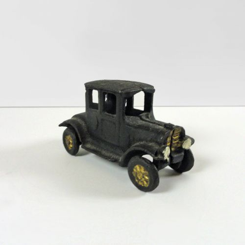 Ford Model T Cast Iron Vintage Figurine