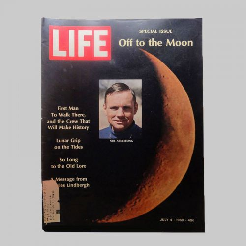 Life Magazine 7-4-1969 Neil Armstrong Off to the Moon