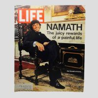 Life Magazine 11-3-1972 Joe Namath Broadway Joe