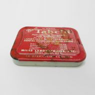 Tabcin Cold and Hay Fever Metal Slider Drawer Tin
