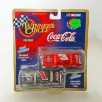 Dale Earnhardt Jr and Sr Nascar Hasbro Coca Cola Stock Cars