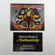 Nascar Tony Stewart Bass Pro Shop Photo Card with COA