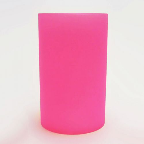 Pink Cylinder Lighting Tube for Electric Oil Warmers