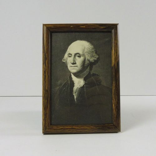 George Washington Vintage Framed Postcard