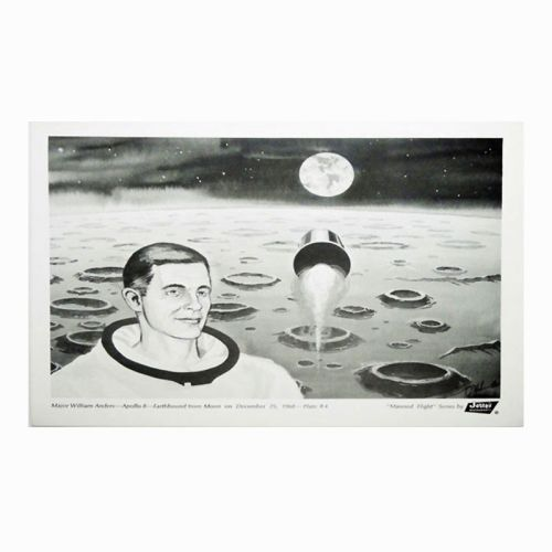 Jerry's Restaurant Manned Flight Series No. 4 Placemat