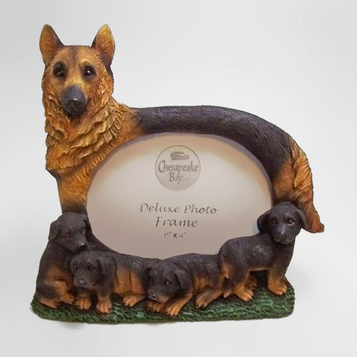 German Shepherd Dog Photo Frame Holds One 6x4 Picture