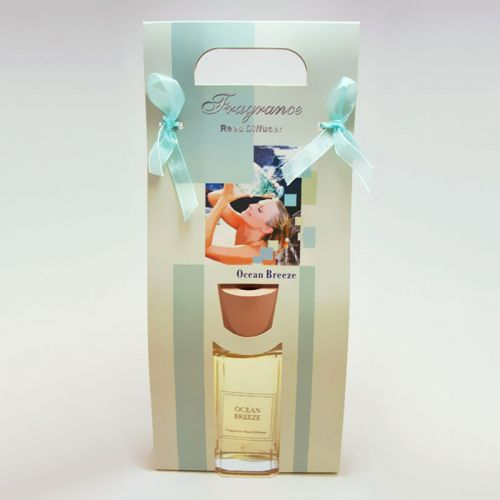 Ocean Breeze Reed Diffuser Gift Bag includes Reeds and Oil