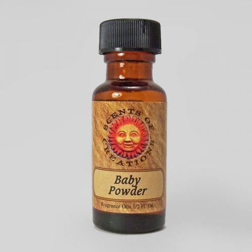 Baby Powder Scented Fragrance Oil - 0.5 Fluid Ounce