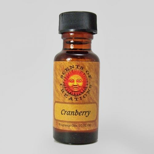 Cranberry Scented Fragrance Oil - 0.5 Fluid Ounce