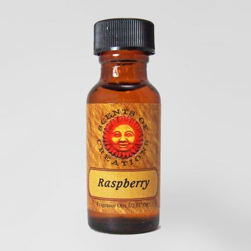 Raspberry Scented Fragrance Oil - 0.5 Fluid Ounce