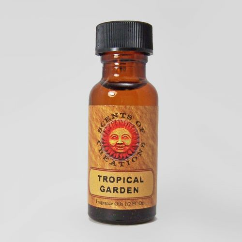 Tropical Garden Scented Fragrance Oil - 0.5 Fluid Ounce