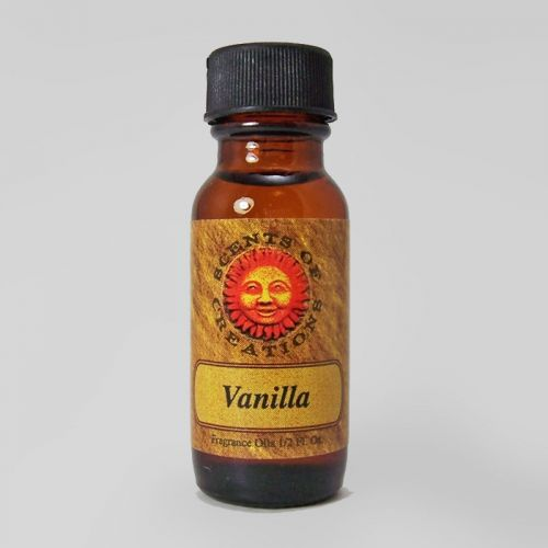Vanilla Scented Fragrance Oil - 0.5 Fluid Ounce