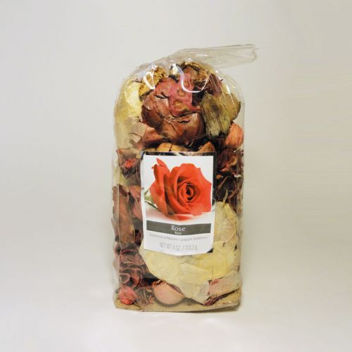 Rose Scented Botanical Potpourri in a Bag