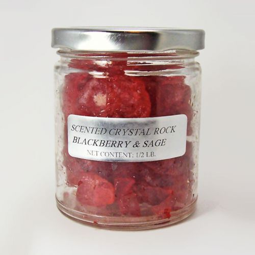 Blackberry and Sage Scented Crystal Rocks Potpourri