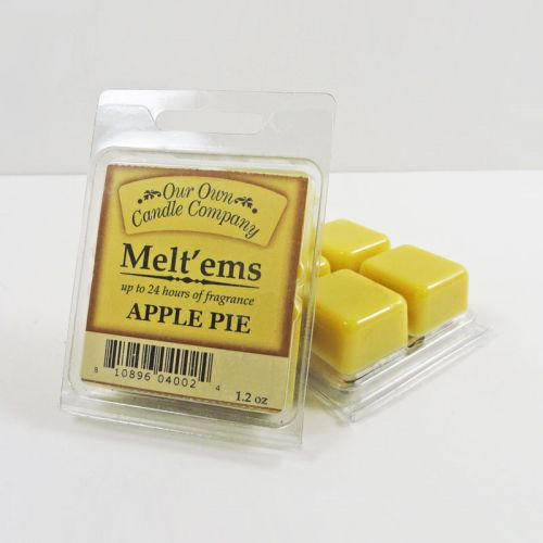 Apple Pie Scented Tarts Wax Melts Four Pc. Pack