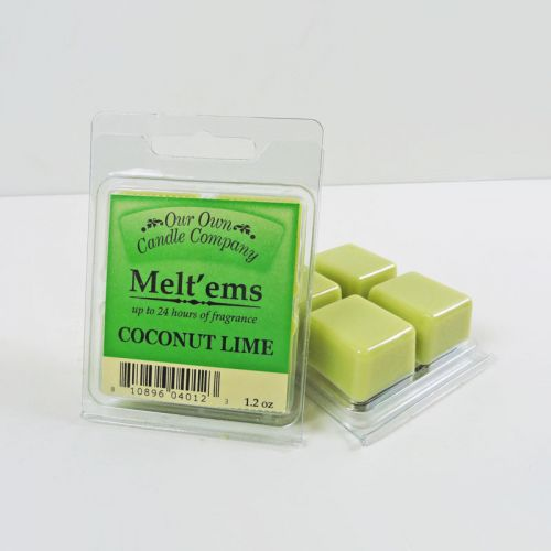 Coconut Lime Scented Tarts Wax Melts Four Pc. Pack